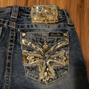 **REPAIRED** Miss Me Jeans
